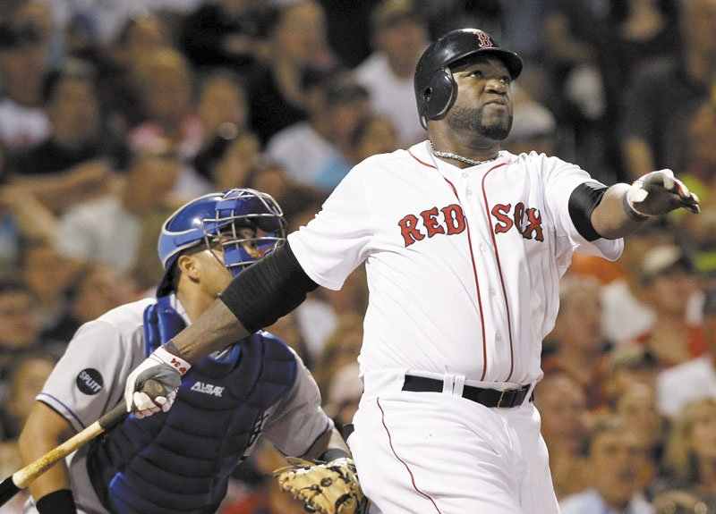 A HOT COMMODITY: If the Boston Red Sox are unable to sign David Ortiz (34) in the offseason, they will have a hard time replacing him. Ortiz has had a bounce back year, with 20 home runs and 28 doubles and a.376 on-base percentage prior to Friday's game.
