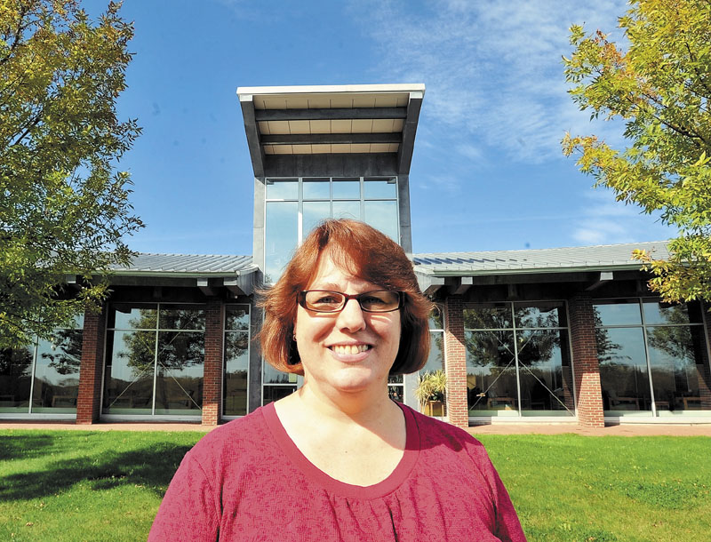 IN SCHOOL: Melissa Berry, a student at Kennebec Valley Community College, is on track to graduate from the medical assisting program in May.