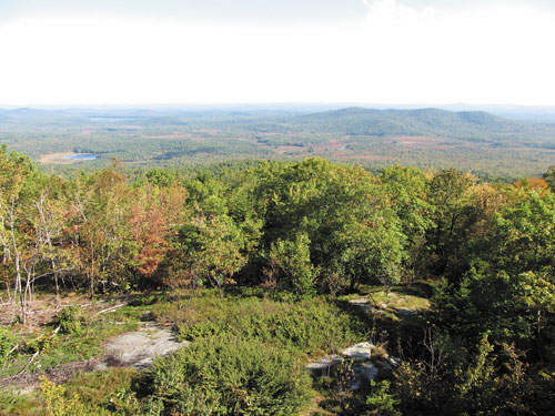GOING FOR A HIKE: As the fall season hits, leaves all over Maine will be changing colors. First to be hit will be Down East, where hikers of all levels can enjoy the colors.