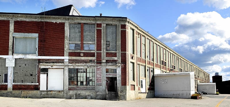 The Bates Mill No. 5 in Lewiston is the proposed site of a casino.