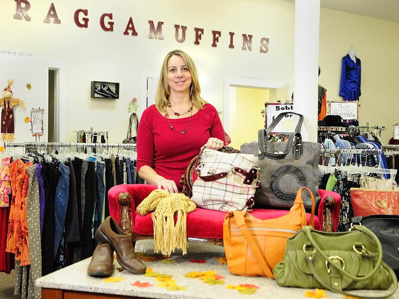Heidi Hilton is the owner of Raggamuffins Consignment in Gardiner.