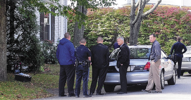 BREAK-IN: Augusta and State Police responded to a Wednesday morning burglary at 54 Green St., at corner of Melville Street, Wednesday morning in Augusta.