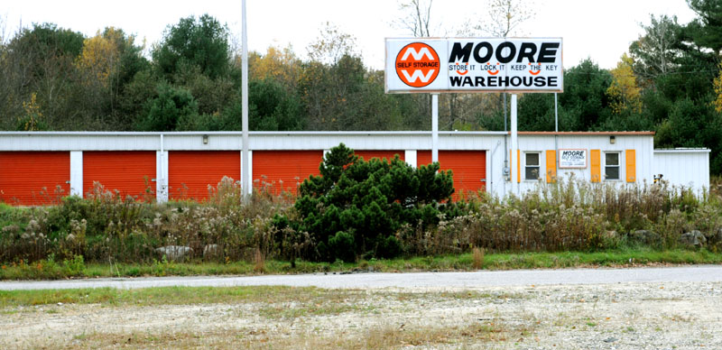 REMAINS FOUND: Moore Self Storage is shown Monday in Lewiston, Maine. State authorities are planning an autopsy on human remains found in a unit at the storage facility last week that may be those of a Holden, Maine, woman who vanished in 1983.