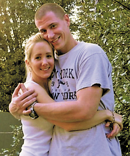 COUPLE: Justin Crowley-Smilek with his girlfriend, Destiny Cook, in a photo she provided.