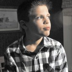 THE 11 CLUB: Kaleb Poirier will be celebrating his 11th birthday on Nov. 11, 2011.