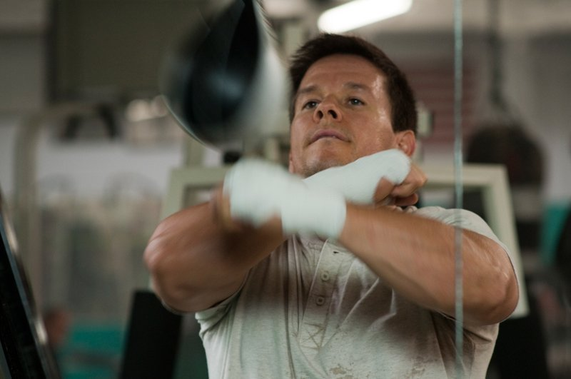 "Mark Wahlberg portrays working-class Lowell, Mass., boxer Irish Micky Ward in the fact-based drama ""The Fighter."""