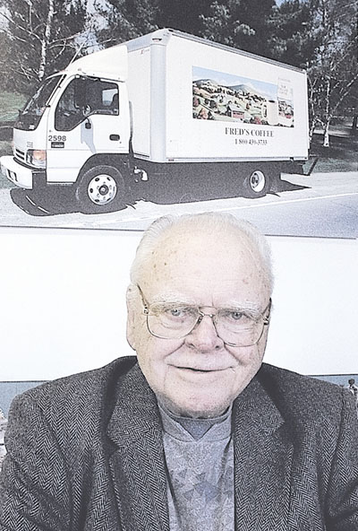 "FRED'S FOUNDER: Joseph Alfred ""Fred"" Boucher, who started Fred's Vending and other local businesses, died Thursday from an infection related to gall bladder failure. He was 88."