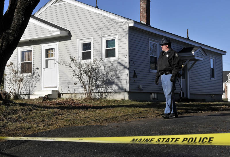 Maine State Police have taped off the residence where 20-month-old Ayla Reynolds was last seen last week as investigators and searchers hunted for the missing toddler on Thursday.