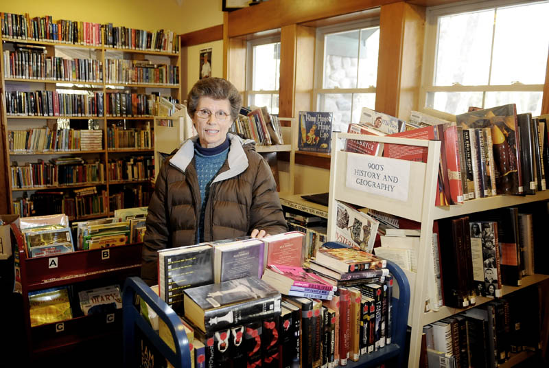 LOOKING FOR A LARGER SPACE: Friends of the Belgrade Public Library president Judy Johnson.
