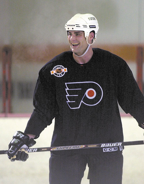 COMING BACK: Former Philadelphia star Eric Lindros was an MVP, a captain and led the Flyers to the Stanley Cup finals. For the first time in 10 years, Lindros returns wearing a Flyers sweater, leading them in the Winter Classic alumni game.