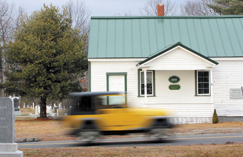 The Belgrade Historical Society wants to restore the 1815 Town Meeting House on Cemetery Road.