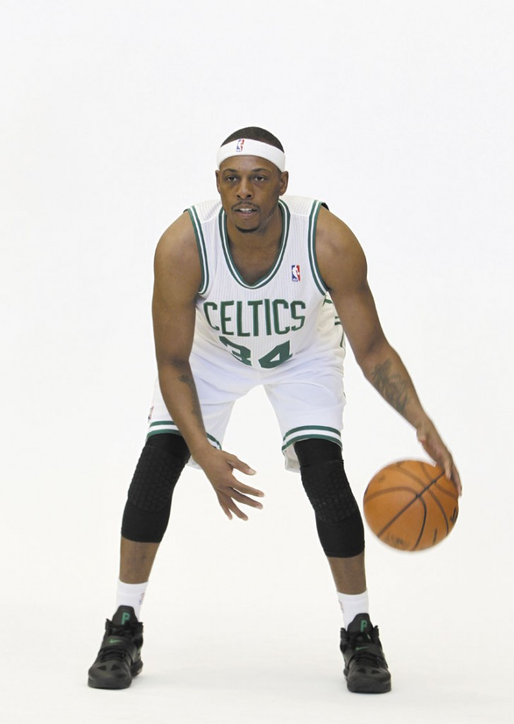 PAUL PIERCE portrait full length