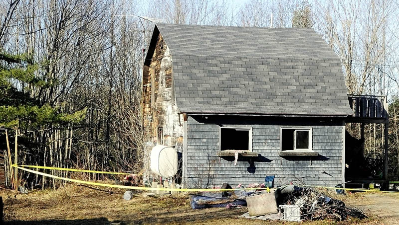This home at 90 Rockland Road was heavily damaged by fire Wednesday night in Whitefield . The fire has been deemed accidental by the state fire marshal's office, Sgt. Kenneth Grimes said Thursday.