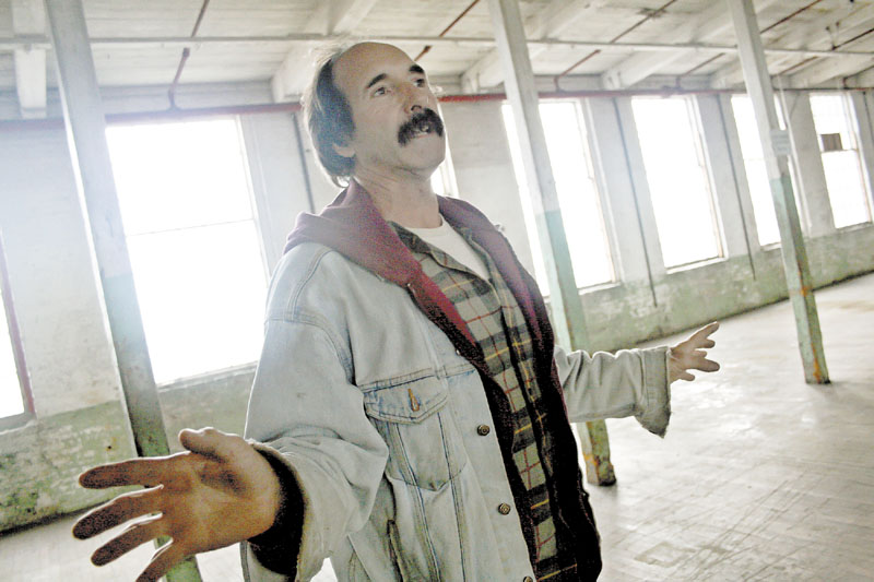 REVITALIZATION: Ray Breton is helping redevelop North Vassalboro.