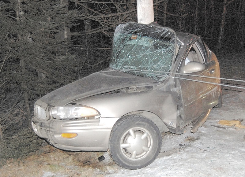 FATAL CRASH: Rebecca Maiuri, 20, died in a one-car accident on Route 145 in Freeman Township on Sunday night.