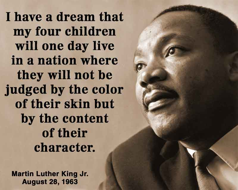 an analysis of martin luther kings speech i have a dream