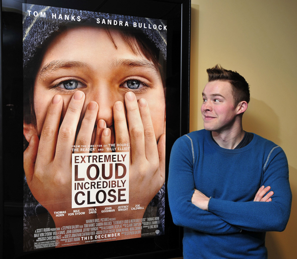 """Alexander Libby Libby, who grew up in Freeport, was assistant to director Stephen Daldry during the making of the Tom Hanks film """"Extremely Loud & Incredibly Close,"""" which is nominated for best picture."""