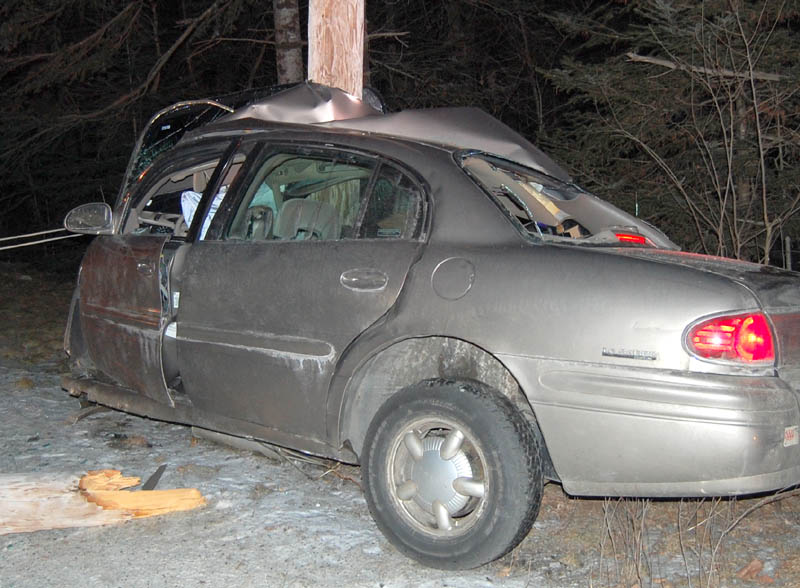 Franklin County Sheriff's Department photo Rebecca Maiuri, 20, died in a one-car accident on Route 145 in Freeman Township late Sunday night, according to a news release from the Franklin County Sheriff's Department.