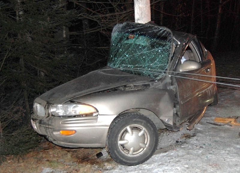 Rebecca Maiuri, 20, died in a one-car accident on Route 145 in Freeman Township late Sunday night, according to a news release from the Franklin County Sheriff's Department.