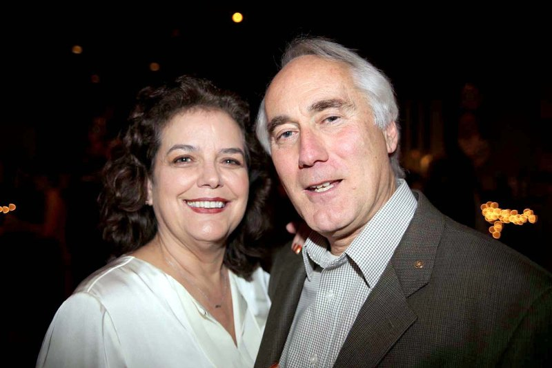 From left, Sally Gould and Ken Vlodek.