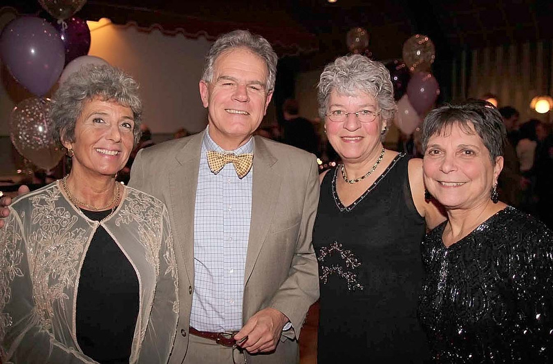 From left, Joy Hikel, Chip Bessey, Janet White and Bette Jane Bessey.