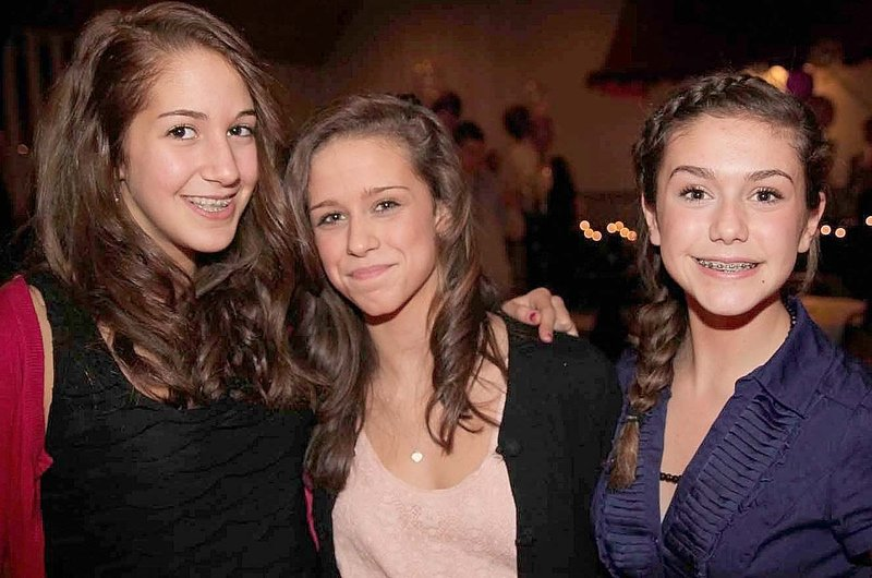 From left, Maia Steinberg, Alex McCown and India Languet.