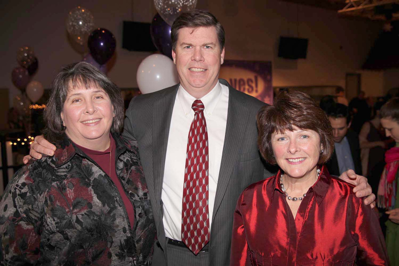 From left, Maria and Chuck Hays and Trish Bullock.