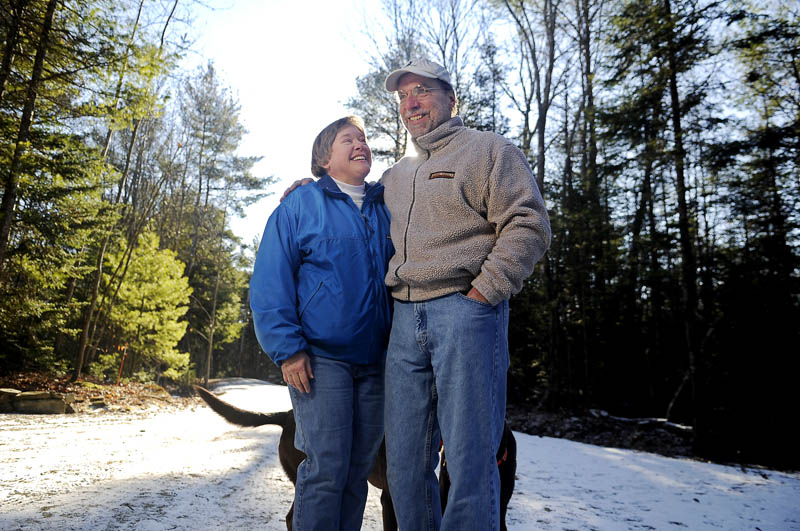 Lee Ann Szelog and her husband, Tom, of Whitefield, won an award for their Maine Woods National Park Photo-Documation Project.