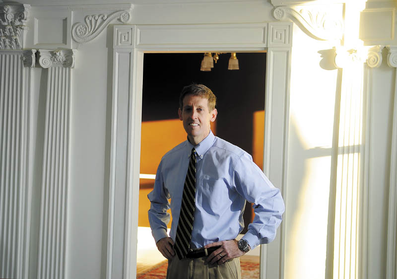Walter McKee is renovating a house on Green Street in Augusta for his solo litigation practice.