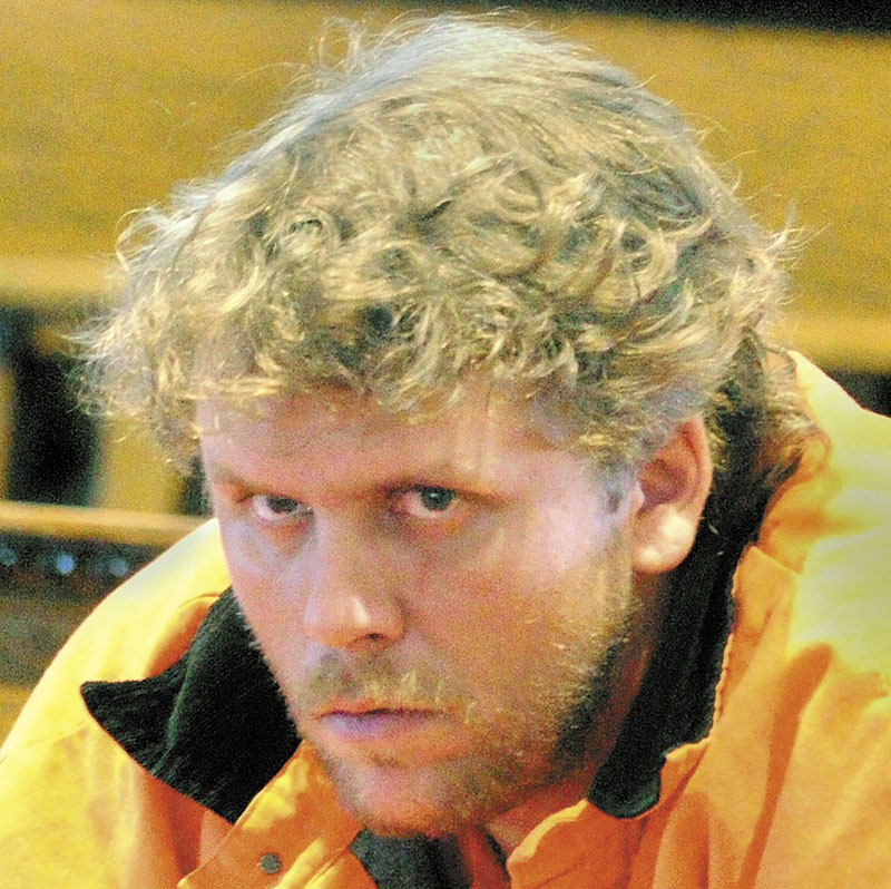 COURT APPEARANCE: Peter George Bathgate II, 31, of Augusta, is accused of intentional and knowing murder in the slaying of Paul A. Allen, 47, of Hallowell, on Dec. 3, 2010.