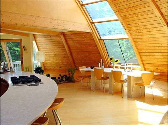 This New York dome home was built using a kit from France and is the only one of its kind in the United States.
