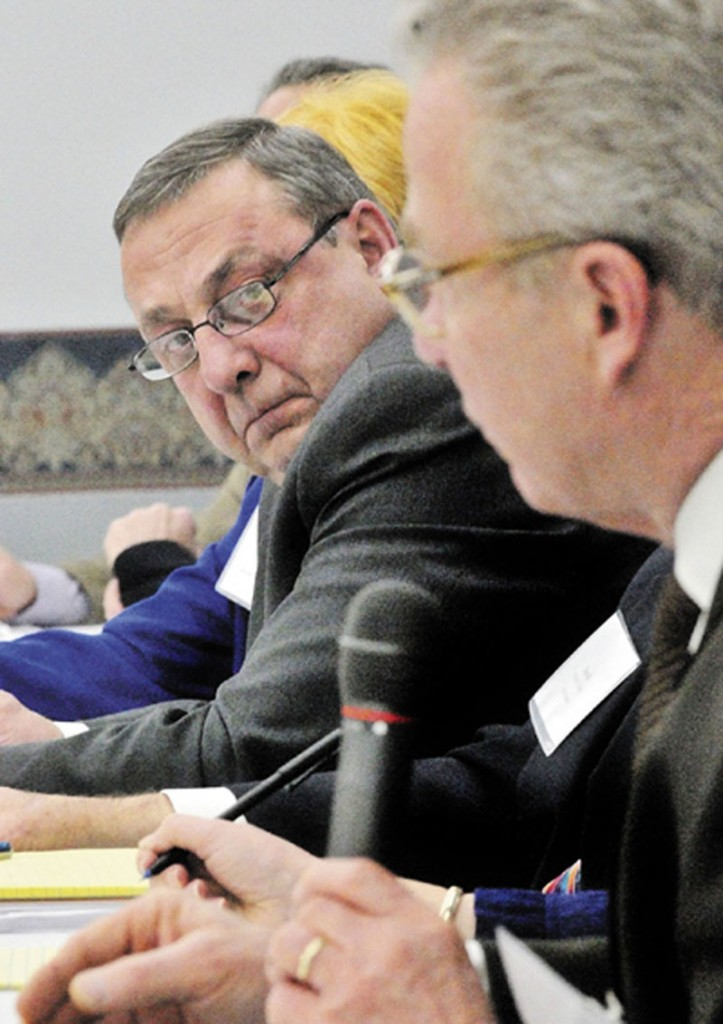 LOOKING AHEAD: 2012 can be a year of promise that moves the Maine economy forward, or it can be an election year full of political rhetoric and impasse, Gov. Paul LePage said Saturday in his final weekly radio address of 2011.
