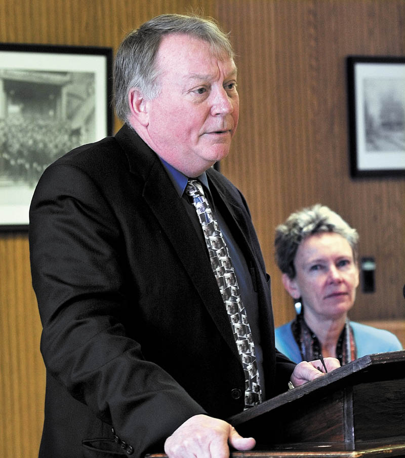 Eric Haley, Alternative Organization Structure 92 superintendent, urged rethinking of state budget cuts on Thursday.
