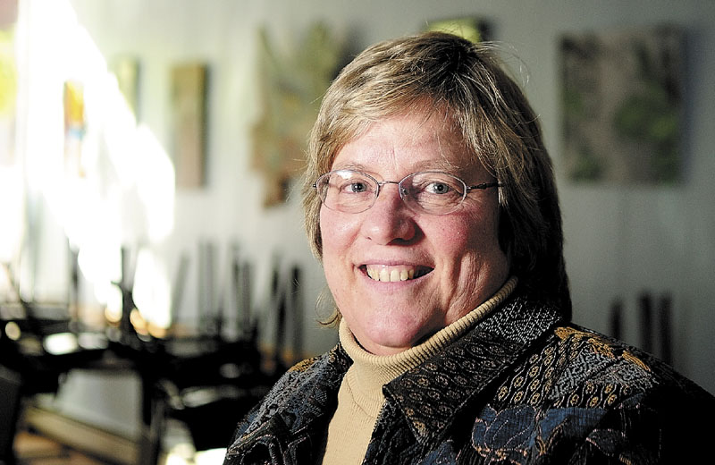 Carolyn Neighoff is one of this year's Kennebec Valley Chamber of Commerce community service award winners.
