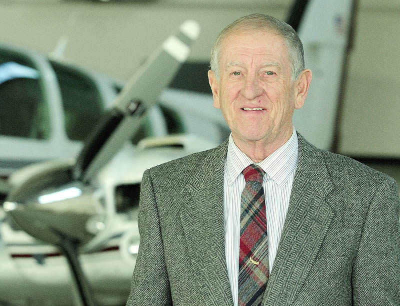 William Perry, of Maine Instrument Flight, has been selected as this year's Kennebec Valley Chamber of Commerce lifetime achievement award recipient.