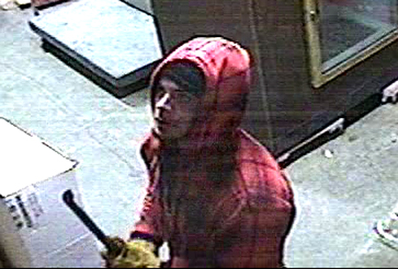This security camera image from Anthony's Food Store in York led to a tip identifying Craig Ford as the suspect.