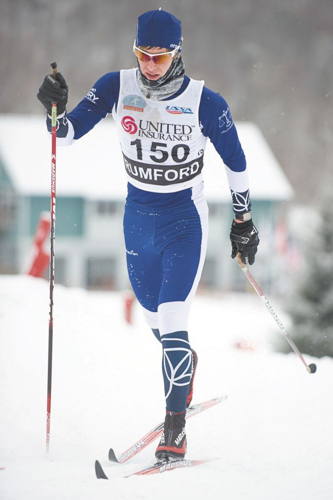 STRONG FINISH: Welly Ramsey of New Sharon finished 13th with a time of 1 hour, 28.49.3 minutes in the 30K race at the U.S. Cross Country Championships on Friday in Rumford.