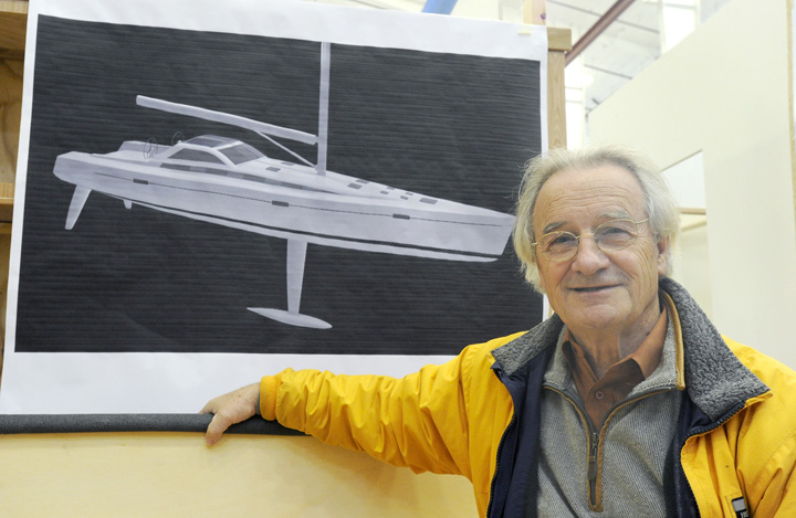 Lyman-Morse Boatbuilding of Thomaston is building a Paris 63 sailboat called Kiwi Spirit for Stanley Paris. Paris plans to beat Dodge Morgan's circumnavigation trip of 150 days. The boat will be completed by August.