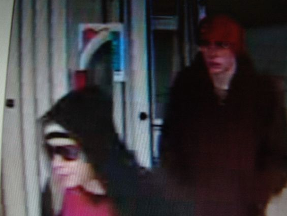 Augusta police released this video surveillance image showing the two men who robbed a CVS pharmacy in Augusta Monday night.