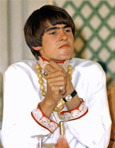 A 1967 photo of Davy Jones.