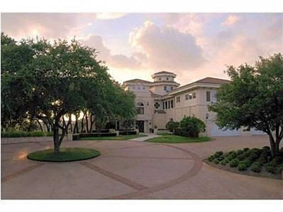 Actor Matthew McConaughey's home is on 9 acres outside Austin, Texas.
