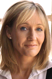 An undated photo of British author J.K. Rowling.
