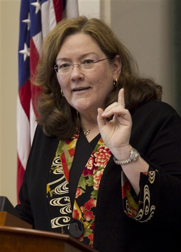 Maine Chief Justice Leigh Saufley gives her annual State of the Judiciary address today at the State House in Augusta.