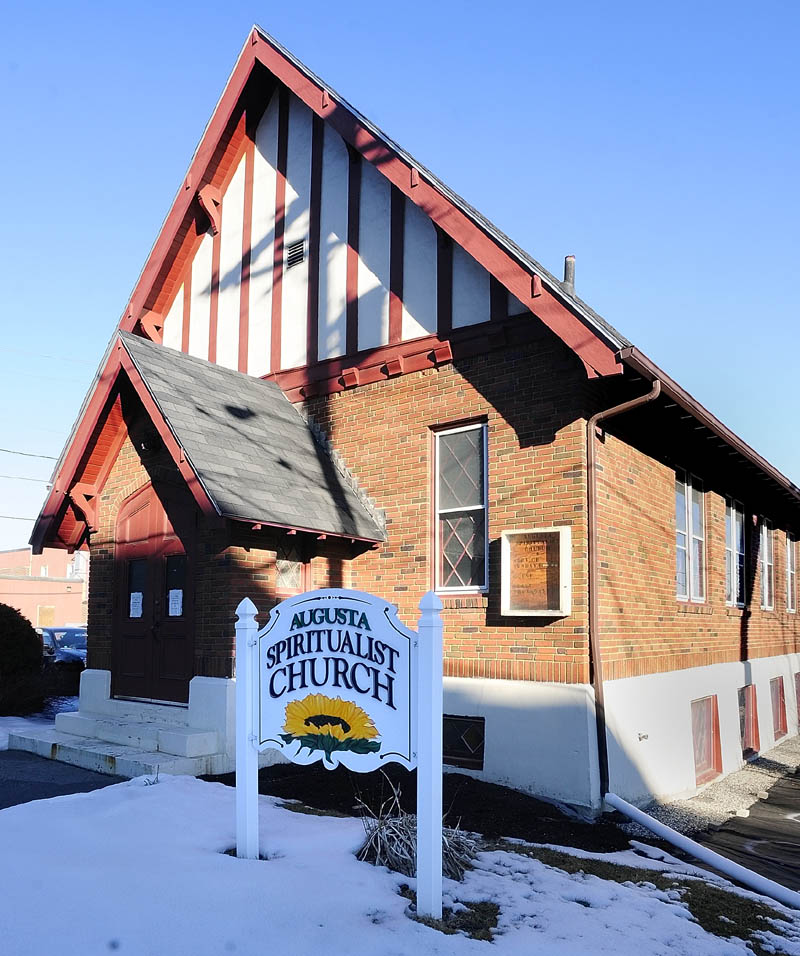 MAKING ROOM: There are plans to move the Augusta Spiritualist Church from the corner of Court and Perham streets in Augusta to make room for a new courthouse.