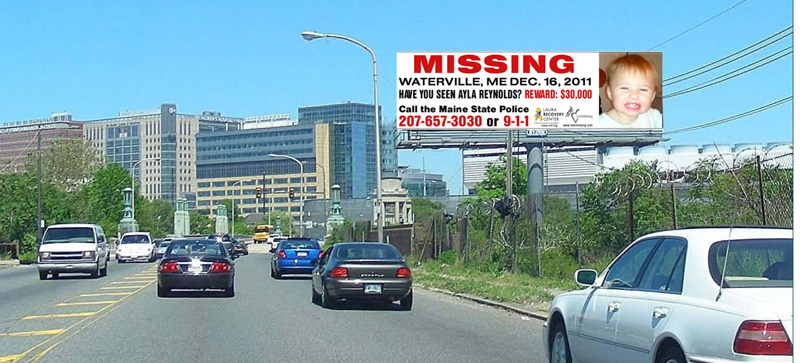 This billboard is located on South 34th Street in Philadelphia.