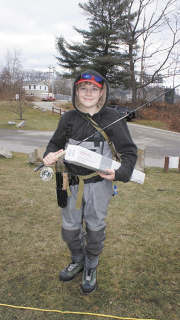 BIG PLANS: Sam Kenney of Dixmont, who is in the seventh grade, will take part in the prestigious Pennsylvania Fly Tying event today.