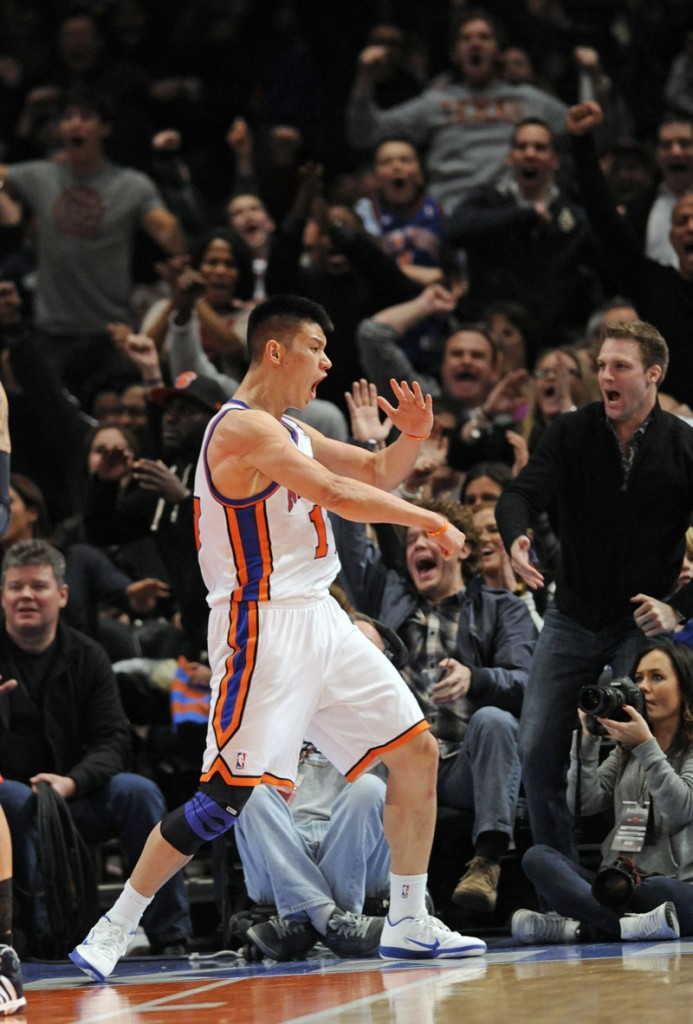 TAKING NEW YORK BY STORM: Jeremy Lin has started five games for the New York Knicks and taken the NBA by storm in that short period of time. In his five starts, he has scored 136 points, more than any player in the first five starts of his carer since the NBA/ABA merger.