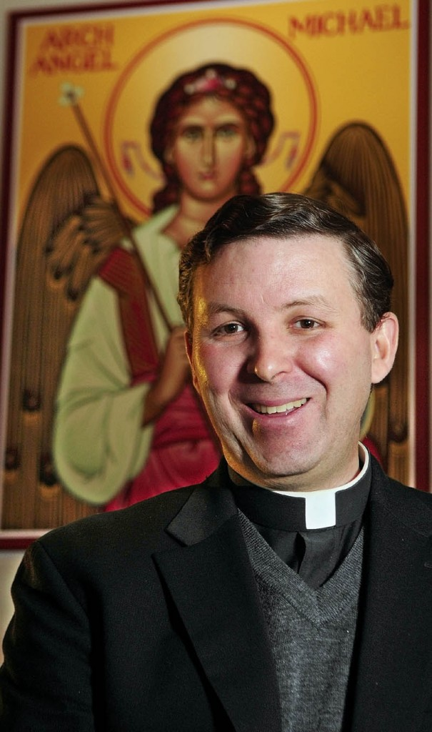 GROUP LEADER: The Rev. Kevin Martin, who serves St. Michael Parish in the Augusta area, has been appointed to serve as the Catholic Chaplain for a local chapter of COURAGE, a worldwide spiritual support group for gay people.