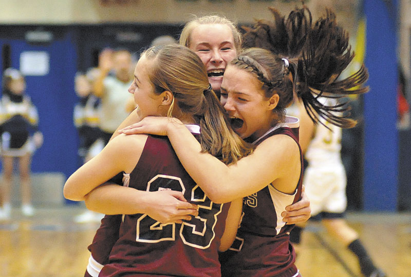 ANOTHER RUN? The Nokomis girls basketball team won the Eastern Maine Class B title last season. The Warriors enter the tournament unbeaten this season and are the No. 2 seed.