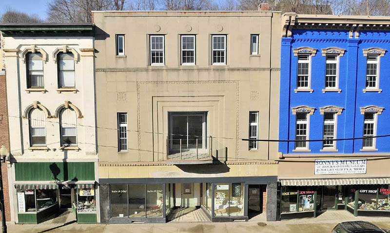 A new balcony is the most visible of the renovations done at the old Chernowsky's building at 228 Water St., which housed the clothing store of the same name that closed in 1994.